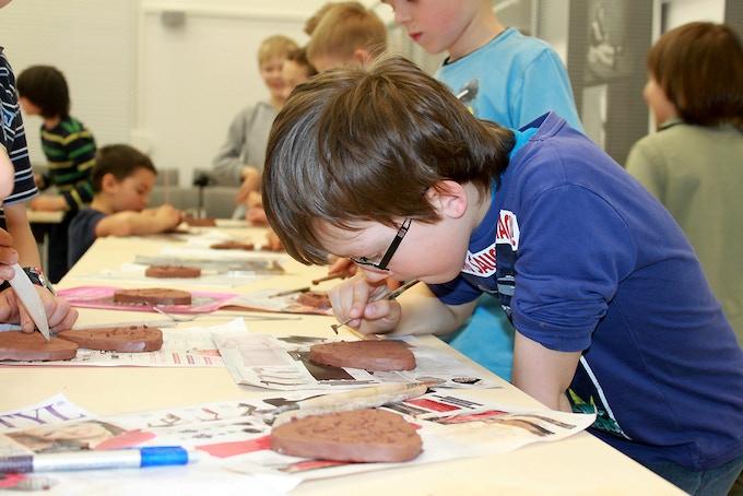 Ceramic Tile Workshop - Elementary School Students