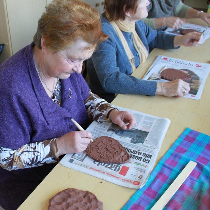 Ceramic Tile Workshop - Senior Women
