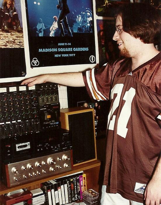 Recording setup, 1993.