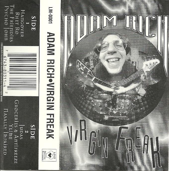 Original cassette insert, 1994.