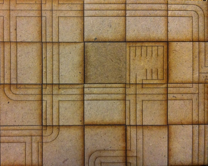 """Planning tiles are 1"""" square, making it easy to quickly try any city layout that you can think of."""