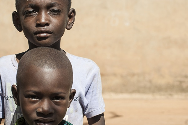 Brothers in Ouagadougou.