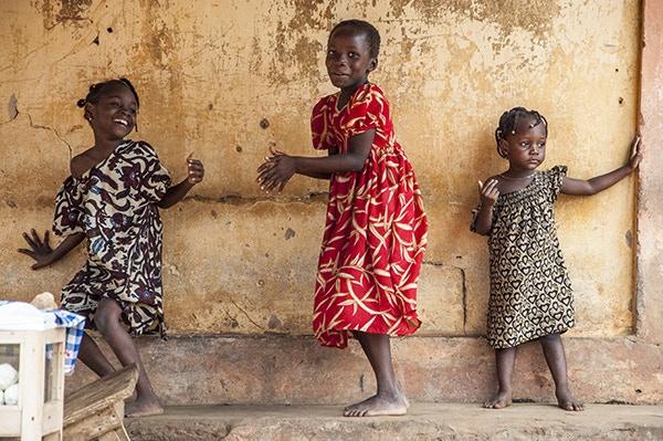 Pattycake in Lomè, Togo.