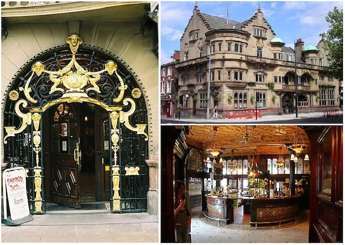 Gin & Ales in the most ornate pub in England and then onto a ghost walk