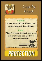 The new Loyalty and Luck card.