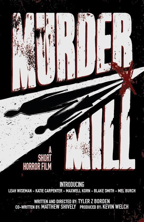 MURDER MILL (2014) - poster design