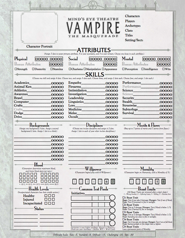 Excell Auto Group >> Mind's Eye Theatre: Vampire The Masquerade by By Night Studios — Kickstarter