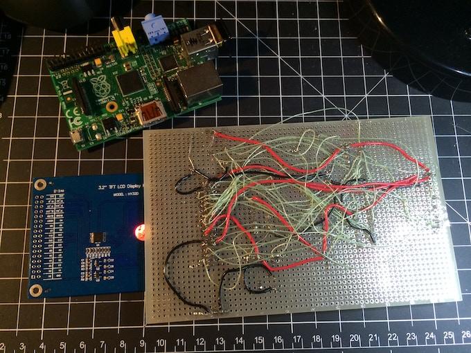 Back of prototype 3