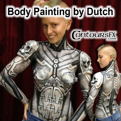 More Body Painting by Dutch in Australia