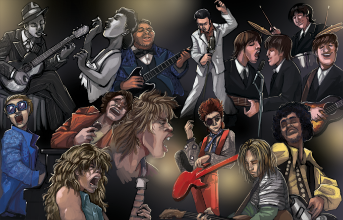 Rockers Through The Ages