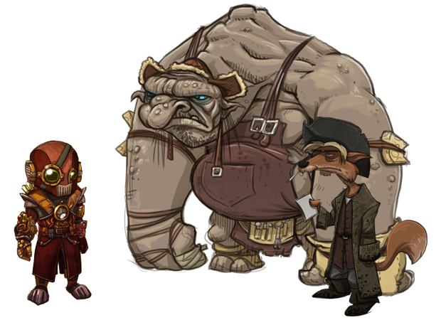 There are more than 60 speaking roles in the game. Some of the characters are old acquaintances, but you will also meet a lot of new faces.