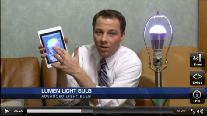 Lumen Bulb video by Fox31