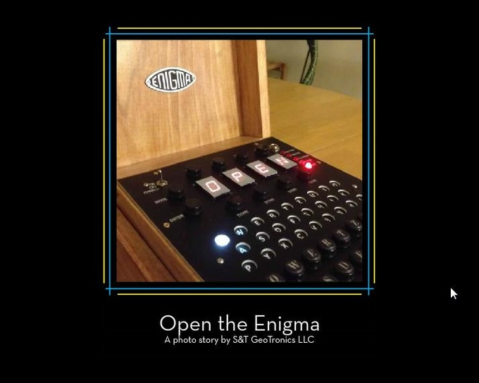 Open Enigma Photo Book