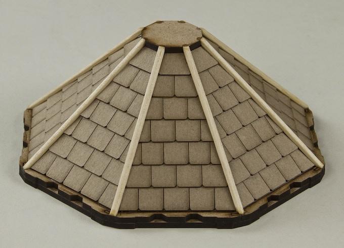 Shingled roof for MBBM66