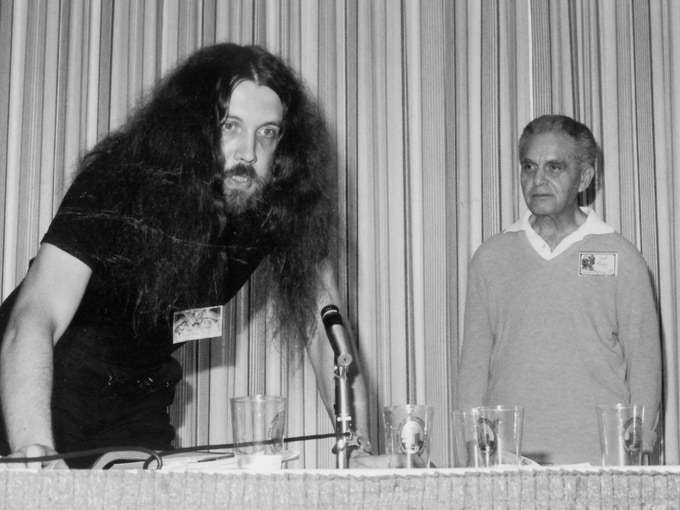 Alan Moore and Jack Kirby, 1985