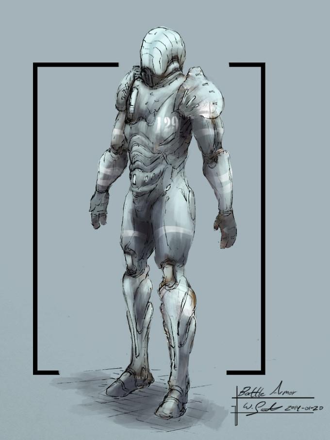 Environmental Body Armor (Concept Art by Wilbert Sweet)