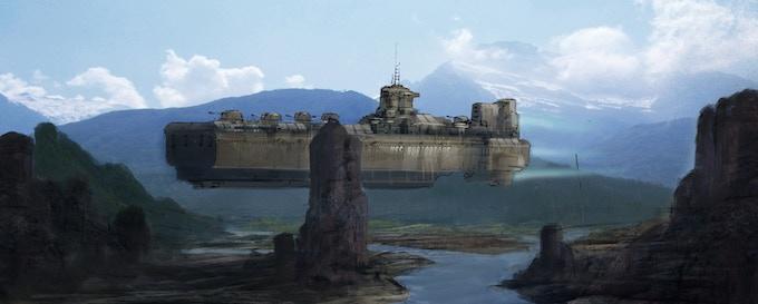 Battleship - (Concept Art by Wilbert Sweet)