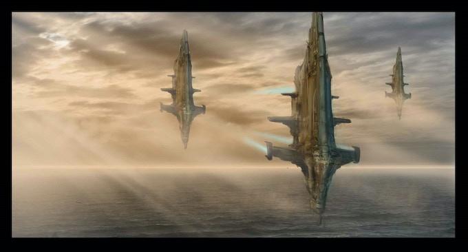 Fleet Advance (Concept Art by Wilbert Sweet)