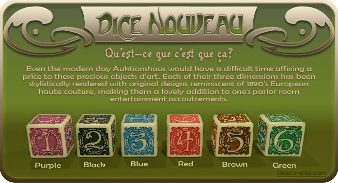 Available Colors - Ivory Die: purple, black, blue, red, brown or green paint. | White Die: purple, black, blue, red, brown or green paint.