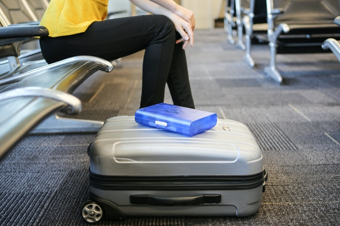 Airsafe Carryon will keep liquids from leaking in your suitcase!