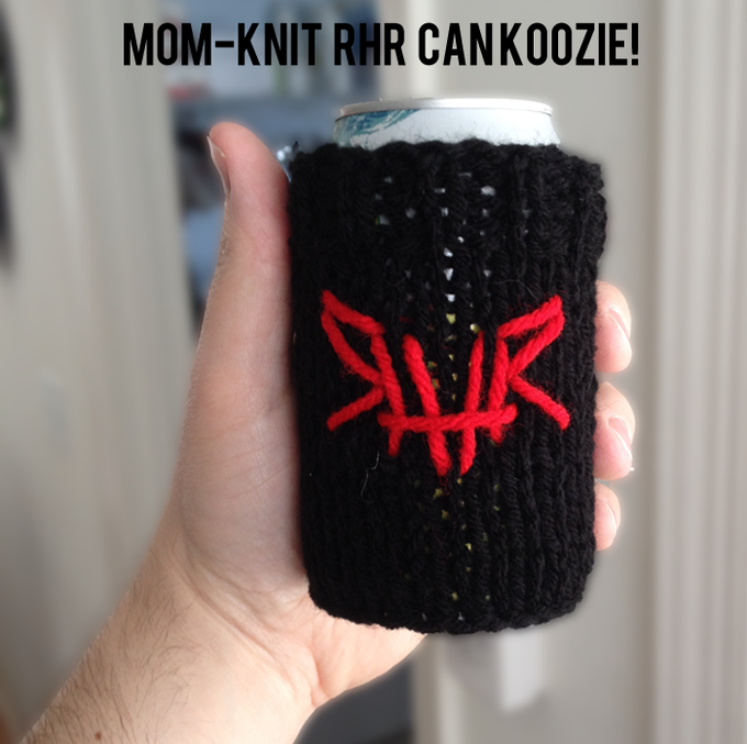 "Part of ""KNIT BOMB"" Reward. (One of a kind mom-knit goodness!)"