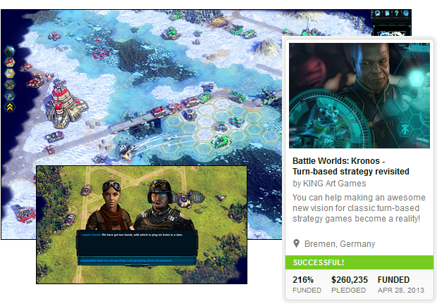 The development of Battle Worlds was a great experience. We hope to be able to repeat it with our second campaign!