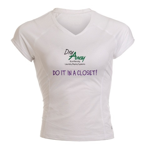 $30 Donation Reward - Awesome Fun Woman's Performance Moisture T-Shirt