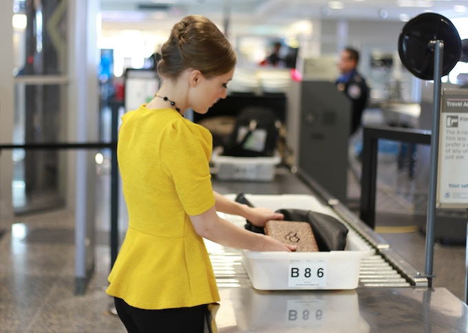Airsafe Carryon complies with TSA liquid restrictions and lets you breeze though security checkpoints.