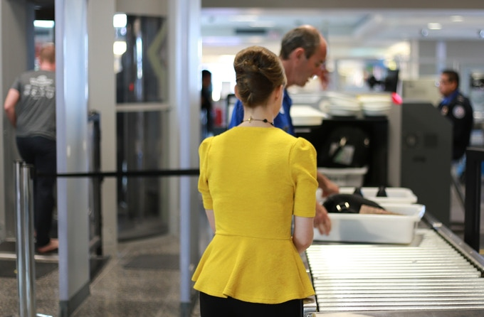 Airsafe Carryon passes through the security check points.