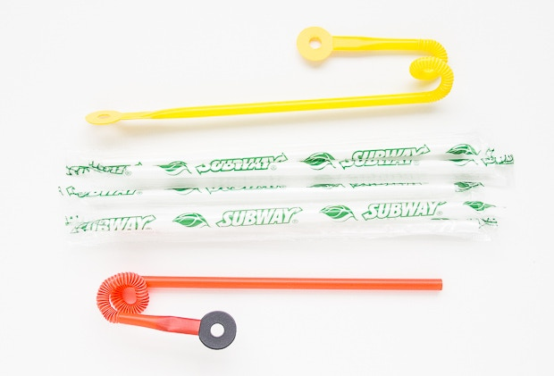 A lot of food chains seem to provide excellent Strawbees Construction Tubes!
