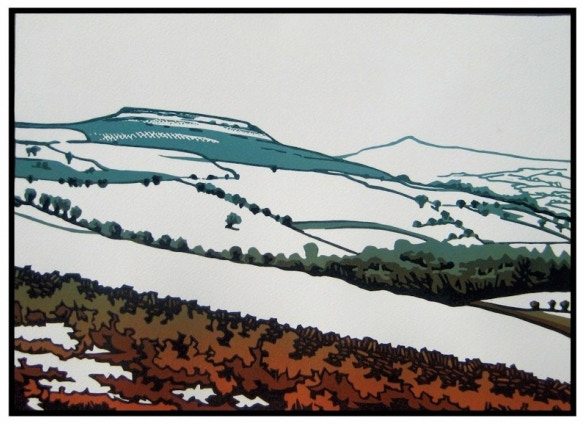 One of Lee Wright's beautiful prints, to give you an idea of how gorgeous the finished print will be
