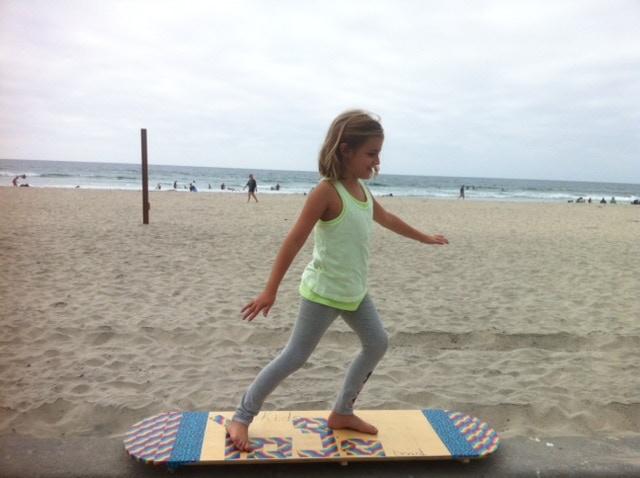 La Jolla Shores showing off