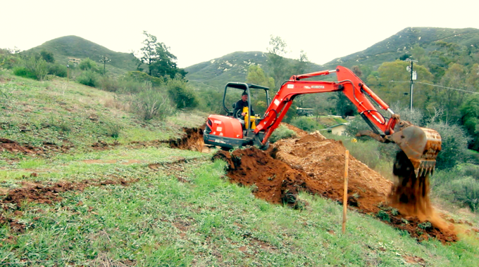 everybody got a chance to drive the excavator