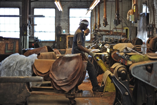 Horween Tannery, Chicago, IL