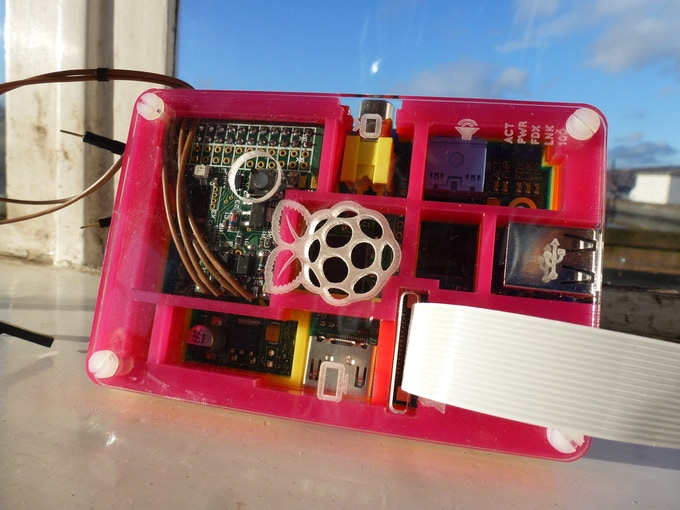 MoPi in a Pibow case.
