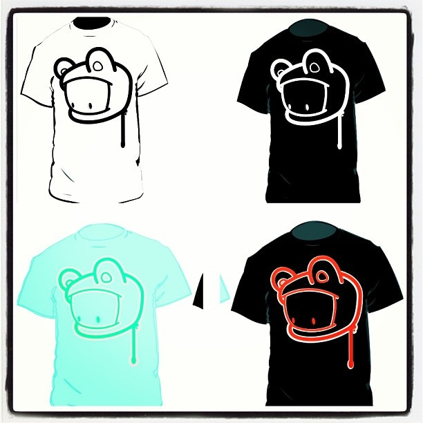 T-shirts available in any of these 4 colors and all sizes.  Add $3 more for 2XL and up