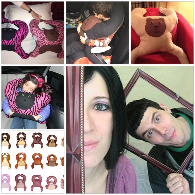 Jennifer Brazil & Jason Iorio with various prototype stages