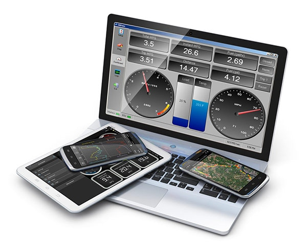 OBDLink MX works with Android, iOS, & Windows operating systems. Use it with any WiFi-enabled phone, tablet, or laptop.
