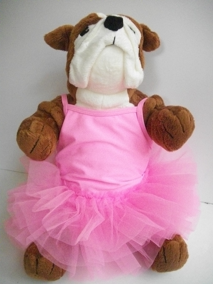 "This Bulldog Ballerina came to me while watching ""The Black Swan"" - January 2013"