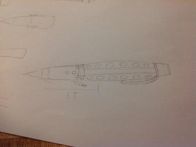 Rough early conceptual sketch
