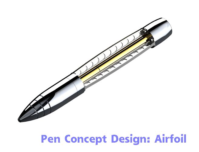 Airfoil Concept Design CAD