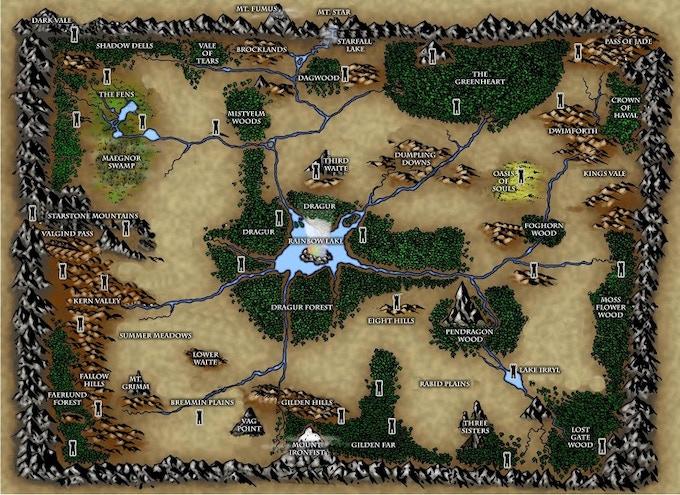 The Orin Rakatha Map (pre-artwork version) we've booked Alyssa Faden to redraw this: https://www.facebook.com/AlyssaFadenCartography