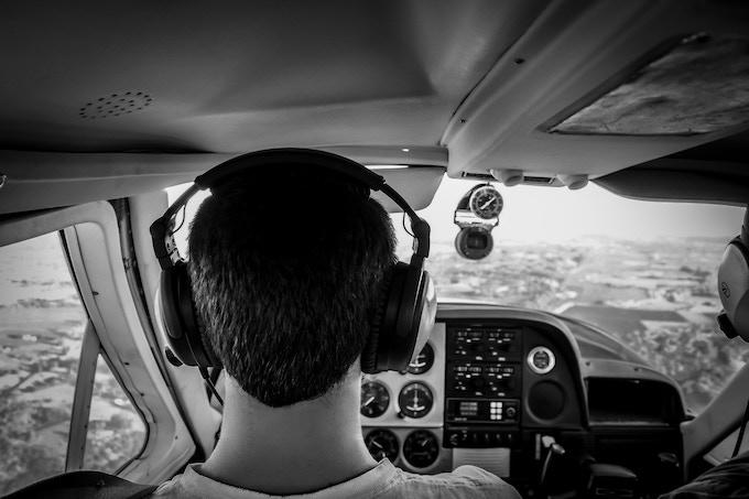 Daniel Shulte, FAA licensed private pilot and director of the film