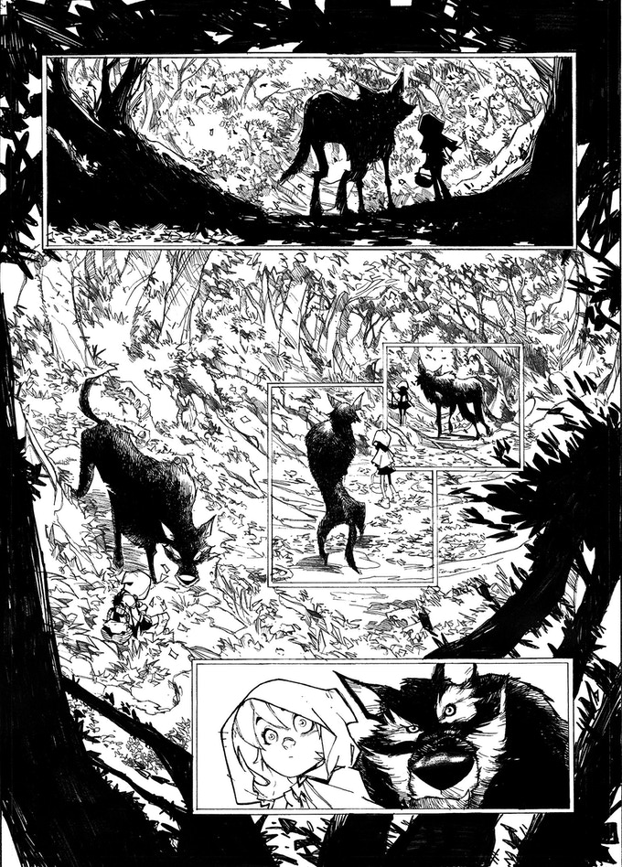 Sneak peek of art from BOOK 2!
