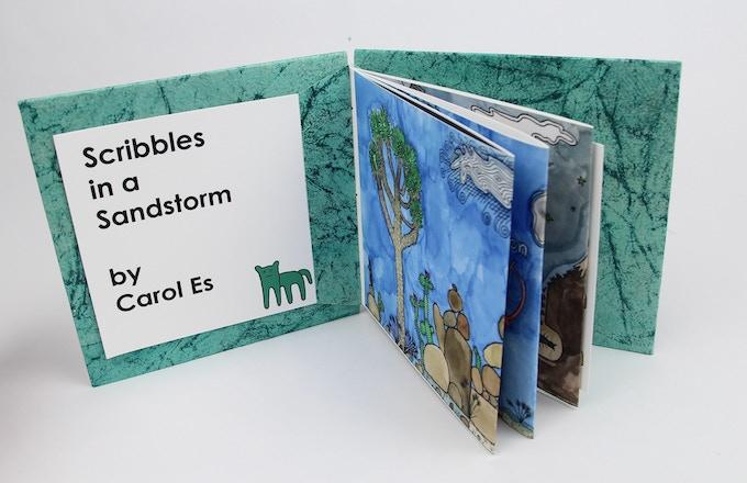 Scribbles in a Sandstorm by Carol Es - Deluxe Edition