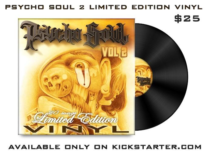 Various artists, psycho soul new psycho soul vol. 1 and vol. 2.