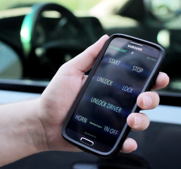 The obdCANex app uses MX's advanced network support,.enabling you to control door locks and remotely start the engine on select GM vehicles.