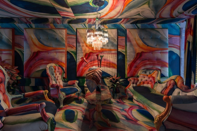 """O'keefe Venetian Hotel Lobby"" at the 55th Venice Biennale"