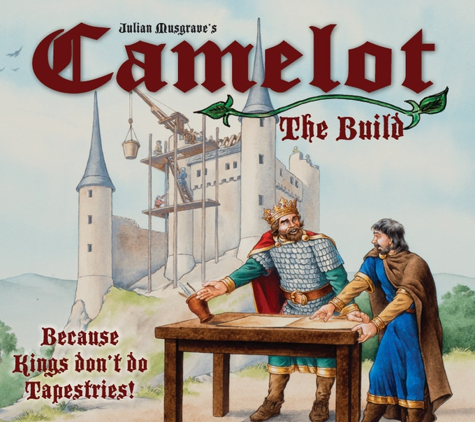 The Box Cover of Camelot: The Build
