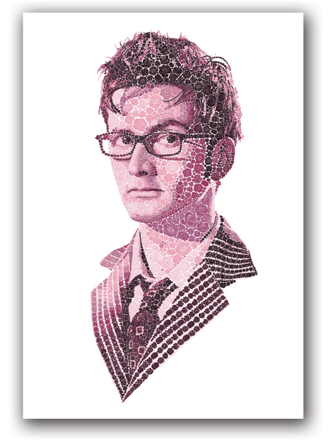 """""""By Any Other Name"""" Doctor Who Rose print"""